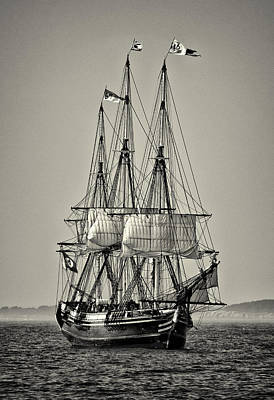 Windjammer Photograph - Friendship II by Fred LeBlanc