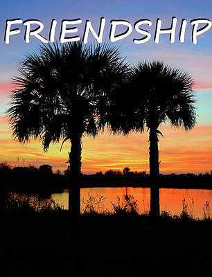 Photograph - Friendship Inspirational Work A by David Lee Thompson