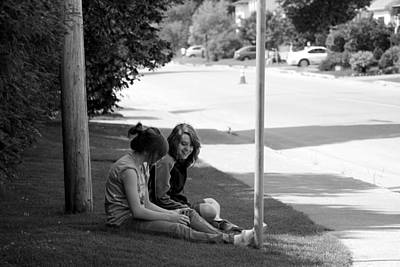 Summer Fun Photograph - Friendship by Maggie Terlecki