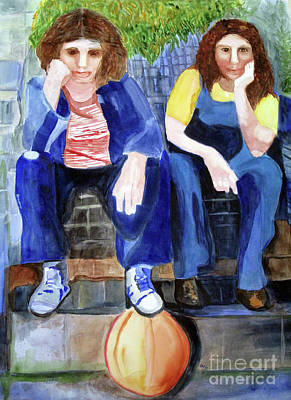 Painting - Friendship by Sandy McIntire