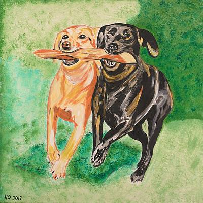Painting - Friendship by Valerie Ornstein