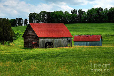 Photograph - Friendsville Barn by Paul Mashburn