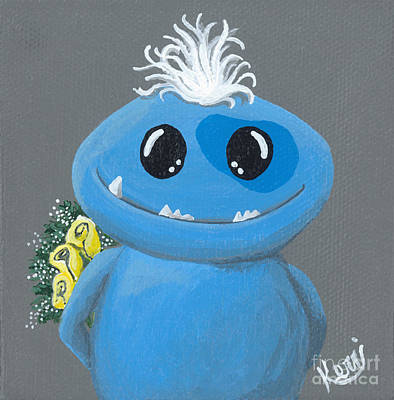 Painting - Friendzone Filbert by Kerri Ertman