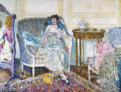 Frieseke: In The Boudoir Art Print