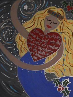 Painting - Frigga by Angela Yarber
