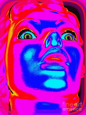 Digital Art - Frightened Francine #2 by Ed Weidman