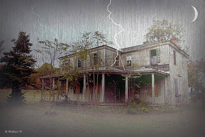 Frightening Lightning Art Print by Brian Wallace