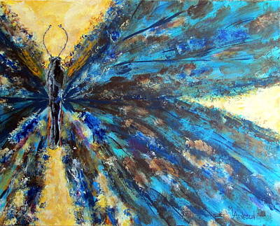 Wall Art - Painting - Fringed by Mary Arneson