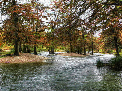 Photograph - Frio River 2 by Michael Ziegler