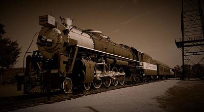 Photograph - Frisco Meteor 4-8-4 by David Dunham