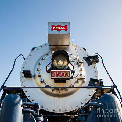 Frisco Meteor On Route 66 In Tulsa Oklahoma Art Print