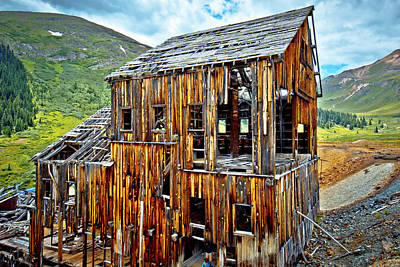 Photograph - Frisco Mill by Linda Unger