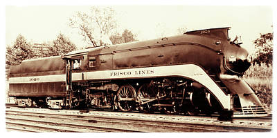 Photograph - Frisco Steam Locomotive 1026 by Garry McMichael