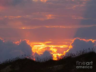 Photograph - Frisco Sunset by Jean Wright