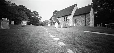 Photograph - Friston Church, Sussex. by Will Gudgeon