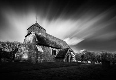 Photograph - Friston Church by Will Gudgeon