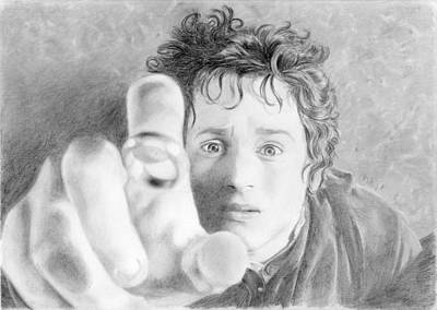 Frodo From The Shire Original by Bitten Kari