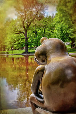 Photograph - Frog Pond Boston Common  by Carol Japp