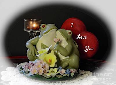 Lovely Lavender - Froggy Love by Debby Pueschel
