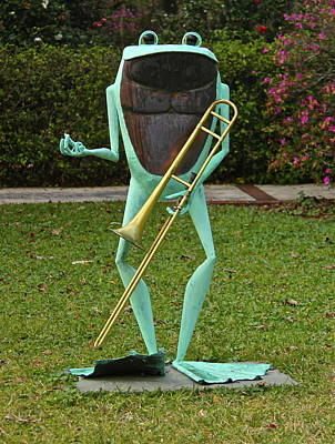 Photograph - Froggy Trombone by Denise Mazzocco