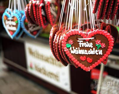 Photograph - Frohe Weihnachten Munich by John Rizzuto