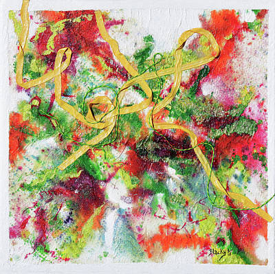 Mixed Media - Frolic In The Field Of My Youth by Donna Blackhall