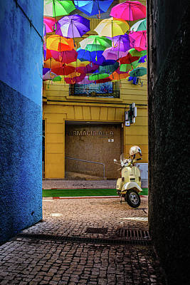 Photograph - From A Dark Alley To A Colorful Street by Marco Oliveira