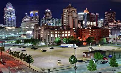 Photograph - From Above And Behind Cinci by Frozen in Time Fine Art Photography