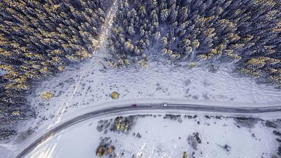 Photograph - From Above I by Ricky Barnard