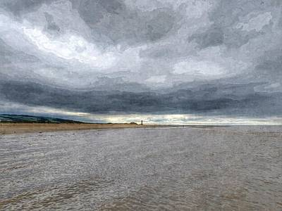 Mixed Media - From Afar by Isabella F Abbie Shores