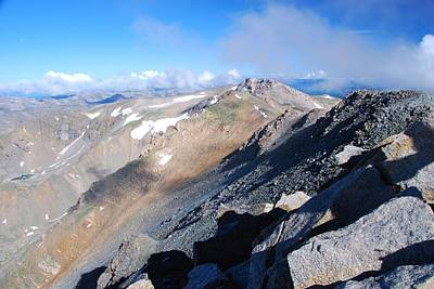 Photograph - From Atop Mount Massive by Cascade Colors
