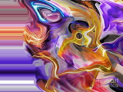 Digital Art - From Beyond IIi by Jim Fitzpatrick