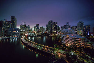 Photograph - from Brickell Key II by Nisah Cheatham