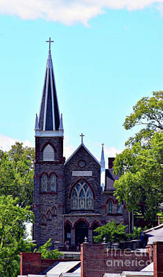 Photograph - St. Peter's Church Harper's Ferry by Patti Whitten