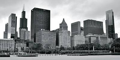 Photograph - From Buckingham Fountain Panorama by Frozen in Time Fine Art Photography