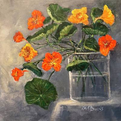 Painting - From Canvas To Garden by Randy Burns