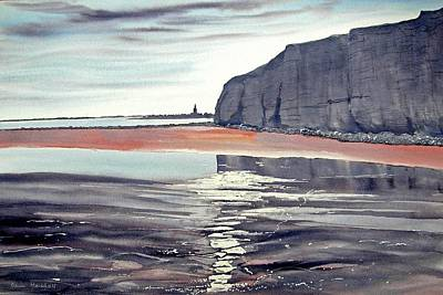 Painting - From Dane's Dyke Towards Bridlington by Glenn Marshall