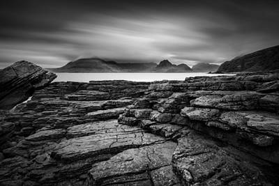 Elgol Photograph - From Elgol To The Cuillin by Dave Bowman