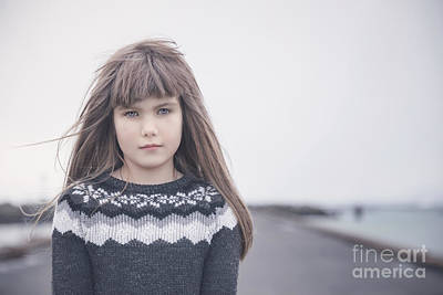 Windy Photograph - From Iceland With Love by Evelina Kremsdorf