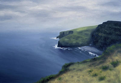 Painting - From Moher by Seamas Culligan