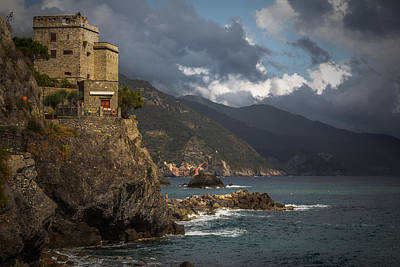 From Monterosso To Vernazza Print by Chris Fletcher