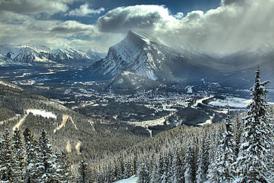 Photograph - From Norquay To Rundle by Adam Jewell
