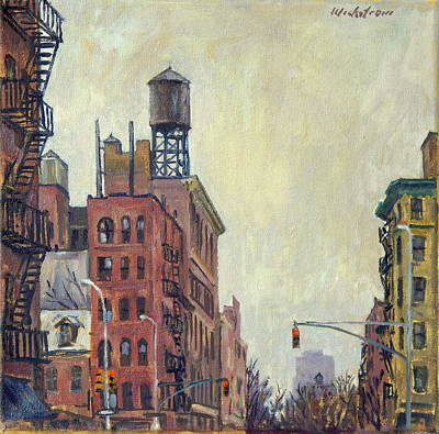 From Orchard Street Nyc Art Print