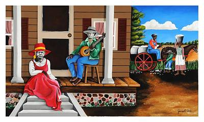 From Outhouse To The Mainhouse Art Print