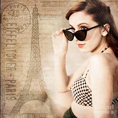 Photograph - From Paris With Love by Alissa Beth Photography
