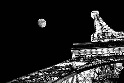 Las Vegas Photograph - From Paris With Love by Az Jackson