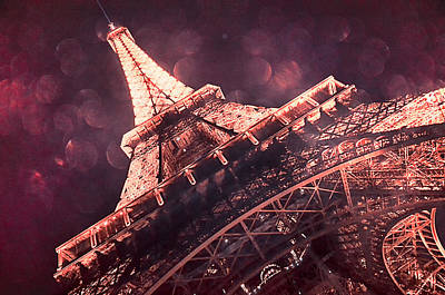 Eiffel Tower Photograph - From Paris With Love by Lynn Langmade