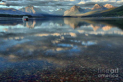 Photograph - From Pebbles To Glacier Peaks by Adam Jewell