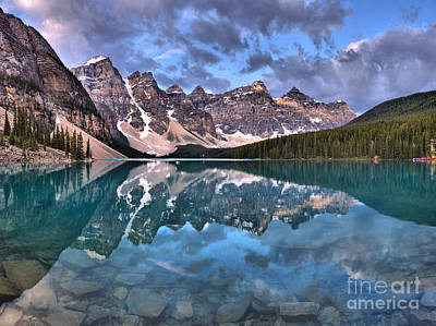Photograph - From Rocks To Clouds In The Valley Of Ten Peaks by Adam Jewell