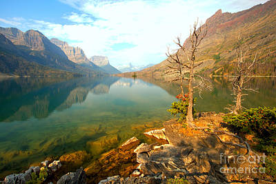 Photograph - From Rugged Shore To Rugged Peaks by Adam Jewell